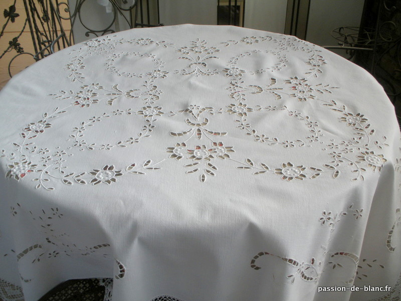 Articles vendus linge ancien de table linge ancien for Nappe et serviettes de table